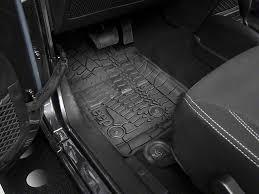 Jeep Jk Floor Mats by Mopar Wrangler Slush All Weather Front U0026 Rear Floor Mats W Jeep