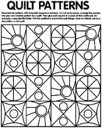 Quilt Patterns Coloring Page