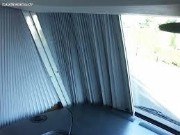 réparation d un rideau plissé occultant de cabine