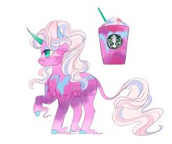Starbucks Unicorn Frappe Adopt CLOSED By Yuyusunshine