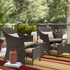 Sears Patio Furniture Ty Pennington by Ty Pennington Parkside 5pc Wicker Seating Set Limited