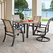 Telescope Patio Furniture Granville Ny by Telescope Casual Gardenella Sling Stacking Swivel Rocker Dining