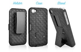 Here s an iPhone case that really stands out the Shell Holster