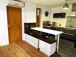 cuisine avec snack bar meuble bar rangement cuisine cuisine avec snack bar 4 meuble bar