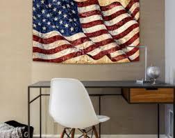 Tapestry American Flag Premium Satin Digitally Printed By Artist Dan