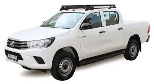 Opposite Lock Front Runner Slimline II Roof Rack Kit For 2016 HiLux ... Inflatable Kayak Roof Rack Universal Soft Pick Up Racks Fab Fours Rr72b 72 Bare Steel Cargo Basket Bajarack Installation 8lug Hd Truck Magazine Nissan Frontier With Rhinorack 2500 Vortex Crossbars And Bike Carriers Car For Trucks Abrarkhanme J1000 Topper Discount Ramps Apex Pickup Ford F150 Forum Community Of Fans Land Rover Discovery 3lr4 Smline Ii 34 Kit By And Baskets Japanese Mini
