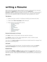 List Of Skills To Put On Resume Good Restaurant What Under In