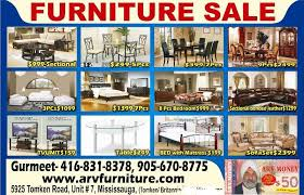 Furniture Sale Mississauga Ontario Canada This Week