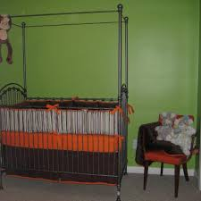 Bratt Decor Crib Used by Find More Rod Iron Four Poster Canopy Crib Bratt Decor For Sale