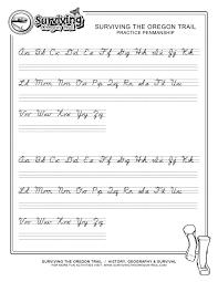 Printable Cursive Handwriting Worksheets Letter Screnshoots Simple