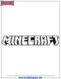 Minecraft Coloring Just Pages Printable Logo Page Animal Mutant Creeper