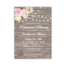 Rehearsal Dinner Invitation Template DIY Cheap Rustic INSTANT DOWNLOAD Microsoft Word CL138