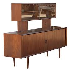 Distinguished Danish Mid Century Modern Teak Credenza Buffet With