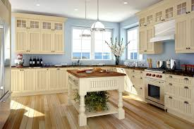 Kitchens Painted In Soft Yellow