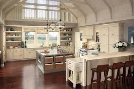 Kitchen Countertop Decorative Accessories by Country Farmhouse Kitchen Designs Glass Door Wall Mounted Cabinets