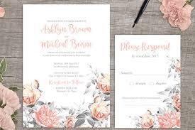 Rosa Romance Free Printable Wedding Invitation 1