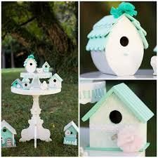 wedding wednesday shabby chic bird house decor the inspired hive