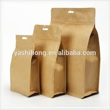 Acceptable Custom Printing Square Bottom Bag Packaging For Coffee Bean Milk Powder