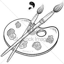 Art Brush Drawing At GetDrawings