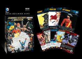 dc deck building crossover pack justice society of america