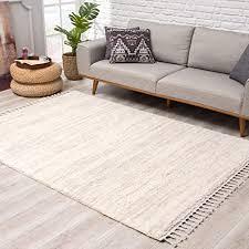 teppich hochflor wohnzimmer ethno stil meliert 80x200 cm