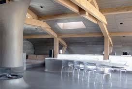 bureau beton ciré taporo mobilier tables et bureaux