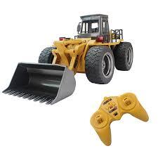 100 Rc Truck Video Amazoncom Fistone RC Alloy Shovel Loader Tractor 24G Radio