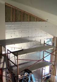 Insulating Cathedral Ceiling With Roxul by How To Insulate Pre Existing Walls Online Whole Interior