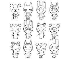 Best Animal Crossing Coloring Pages 94 For Download With