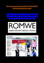 Romwe Coupon Code June 2013 July 2013 60% OFF And Free ... Romwe Coupon Codes Nasty Gal August 2018 50 Off Little Elyara Coupons Promo Discount Okosh Free Shipping 800 Flowers 20 Swimsuits For All Online Coupon Codes Blog Eryna Batteryspace Johnson Fishing Code Ufc Yandy Com Barnes And Noble Printable Coupons This Month September Romwe Home Depot Water Heater Angellift 2019 Earplugsonline Ticketpro Malaysia