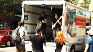 U-Haul A Moving Stage For Slim Wray Music Video In NYC - My U-Haul ...