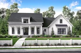 100 Modern Architecture House Floor Plans Mid Size Exclusive Farmhouse Plan 51766HZ