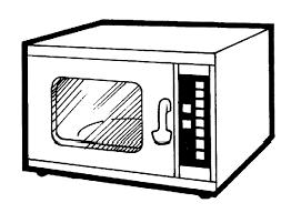 Oven Clipart Black And White ClipartXtras