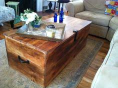 Wood Shipping Crate Coffee Table By Reclaimedbychuck On Etsy 45000