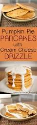 Krusteaz Pumpkin Pancake Mix Where To Buy by Pumpkin Pie Pancakes With Cream Cheese Drizzle Giveaway