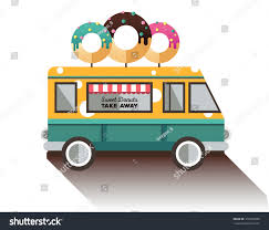 Flat Van Donut Truck Dessert Van Stock Vector 316303085 - Shutterstock Joasis Food Truck Osprey Nokomis Florida Chamber Of Commerce Book Unique Street Caters Feast It 8 New Appetizing Eateriesonwheels To Taste Test At Truckn I Like The Peekaboo Window Display Cupcake Options Beside Meltdown Cheesery Toronto Trucks Dessert United San Diego The Buffalo News Food Truck Guide Sweet Hearth Riya Mehta Waffle Packaging Culture In Brisbane Student Life