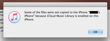Can t sync songs from iTunes Library to iPhone