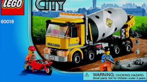 100 Lego Cement Truck LEGO City Mixer 60018 Instructions DIY Book YouTube