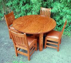 Stickley Furniture Leather Colors by Voorhees Craftsman Mission Oak Furniture Gustav Stickley Oak