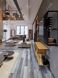 100 Loft Style Apartment Modern Studio Apartment With A Second Floor In A Loft Style