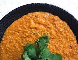 cuisine lentille cooking dhal de lentilles corail aux tomates