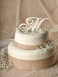 Wood Cake Toppers