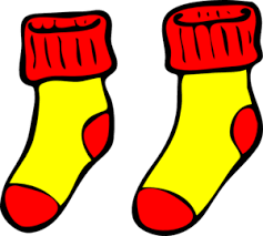 Fall Socks Cliparts
