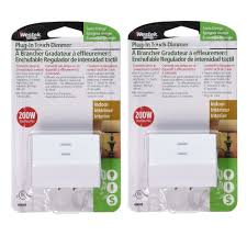 Touch Lamps At Walmart by Westek 6004b 200w 3 Level Touch Lamp Plug In Dimmer White Plug