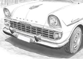Drawings Of Classic Cars