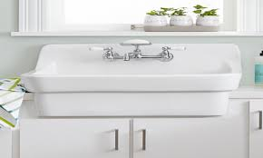 Utility Sink With Drainboard Freestanding by American Standard Country Kitchen Sink Home Design Ideas And