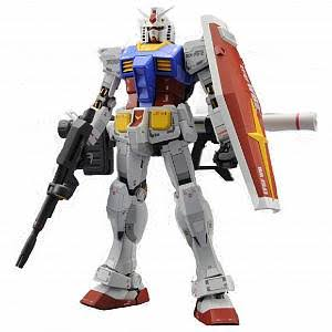 Bandai Hobby MG Gundam RX-78-2 Ver. 3.0 Action Figure Model Kit - 1:100 Scale