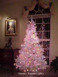 Pre Lit Christmas Tree With White And Colored Lights 17