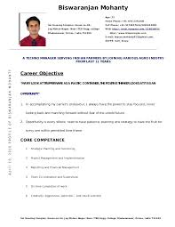 Resume Format For Lecturer Download Samples