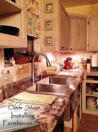 Installing Sink Strainer In Corian by Replacing A Corian Sink With A Farmhouse Sink Hometalk